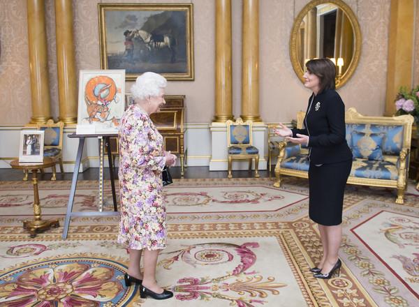 Elizabeth et la présidente