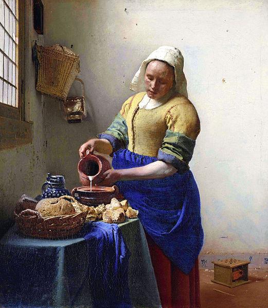 File:Johannes Vermeer - De melkmeid.jpg