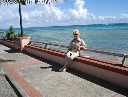 Guadeloupe en janvier.
