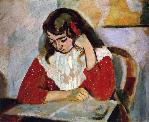 2- Les jeunes filles la lecture- dans la peinture au 20eme siècle