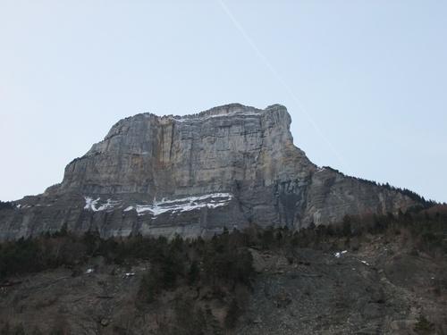 Passage par le col du Granier