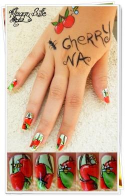 Lot du concours de Cherry Nail art