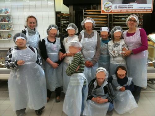 * Visite d'une boulangerie