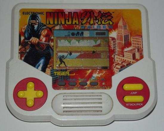jeux elec tiger ninja gaiden