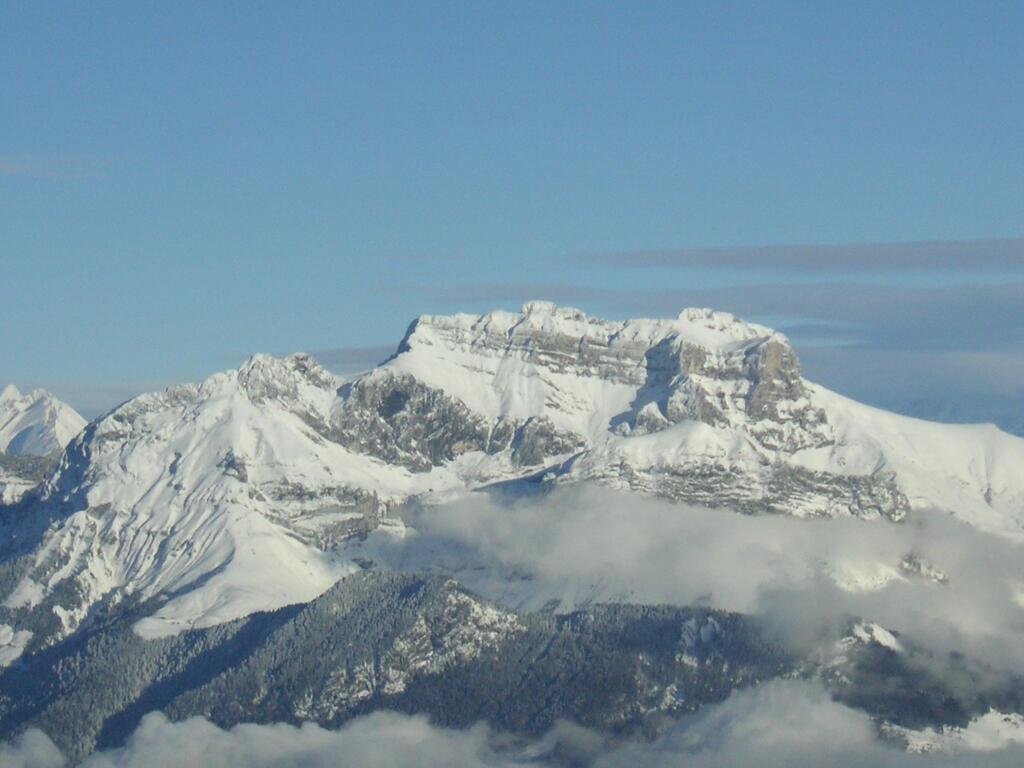 Le Semnoz...Je quitte les Alpes que j'ai adorés !