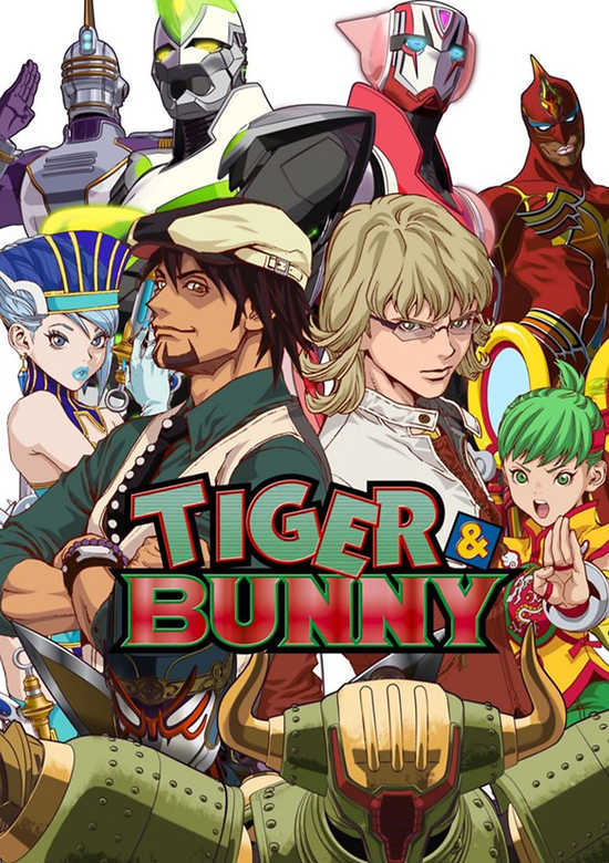 Tiger and Bunny انمي
