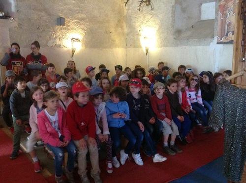 Journée au château Chalabre