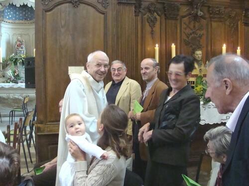 Une très belle cérémonie à Saint Vorles
