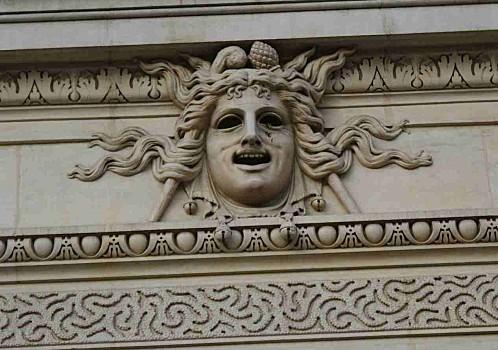 Masque la Comédie