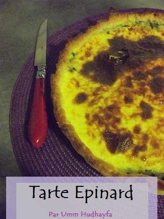 Tarte Epinard
