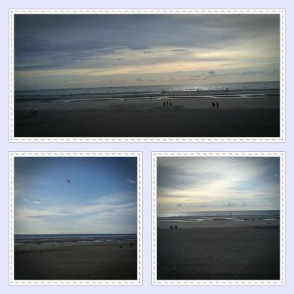 voici des photo de notre wenkend au bord de la mer