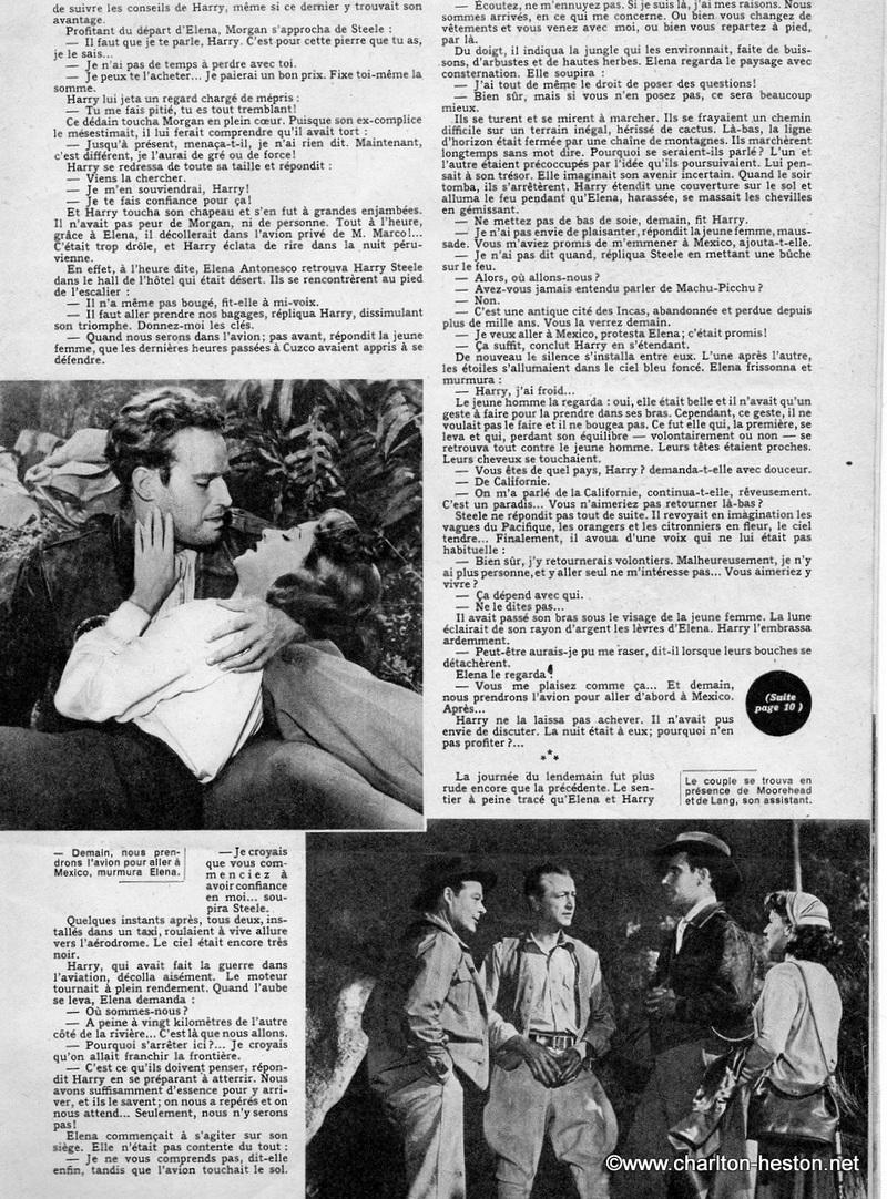 """MON FILM """" LE SECRET DES INCAS """" récit en photos et texte."""