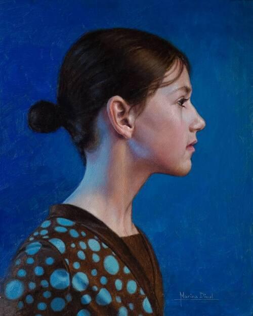 MARINA DIEUL, Peintre française, au Québec depuis 2002