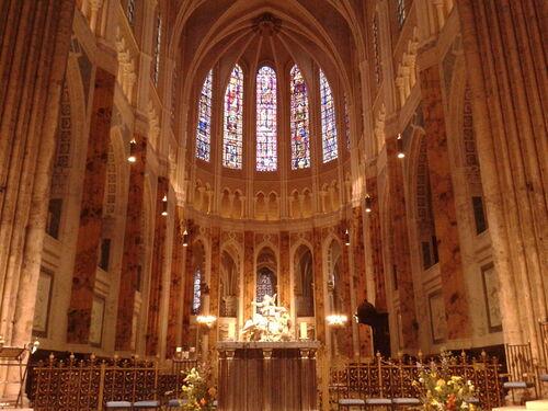 La cathédrale de Chartres...