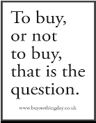 What is Buy Nothing Day?