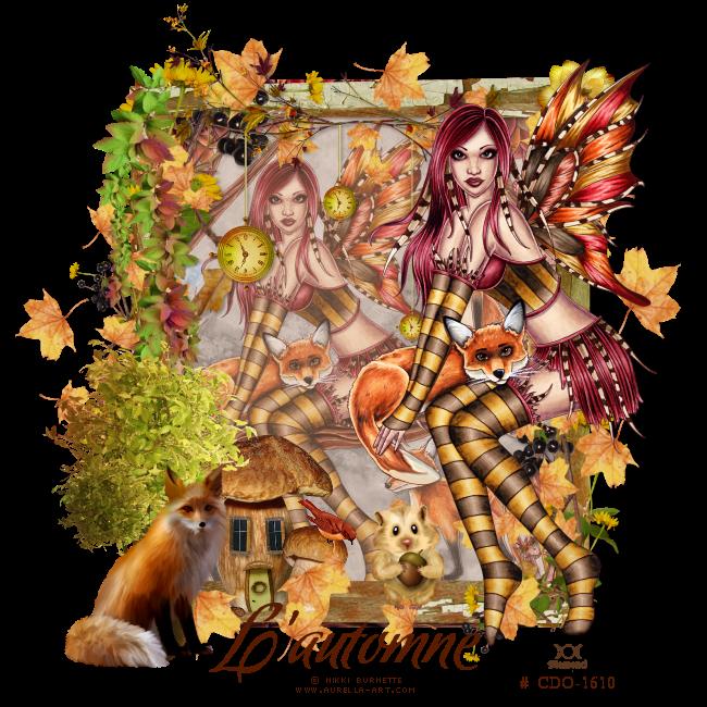"""Tutoriel """"L'automne"""" de Liligraph"""