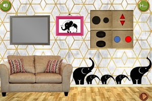 Jouer à 8B Elephant house escape