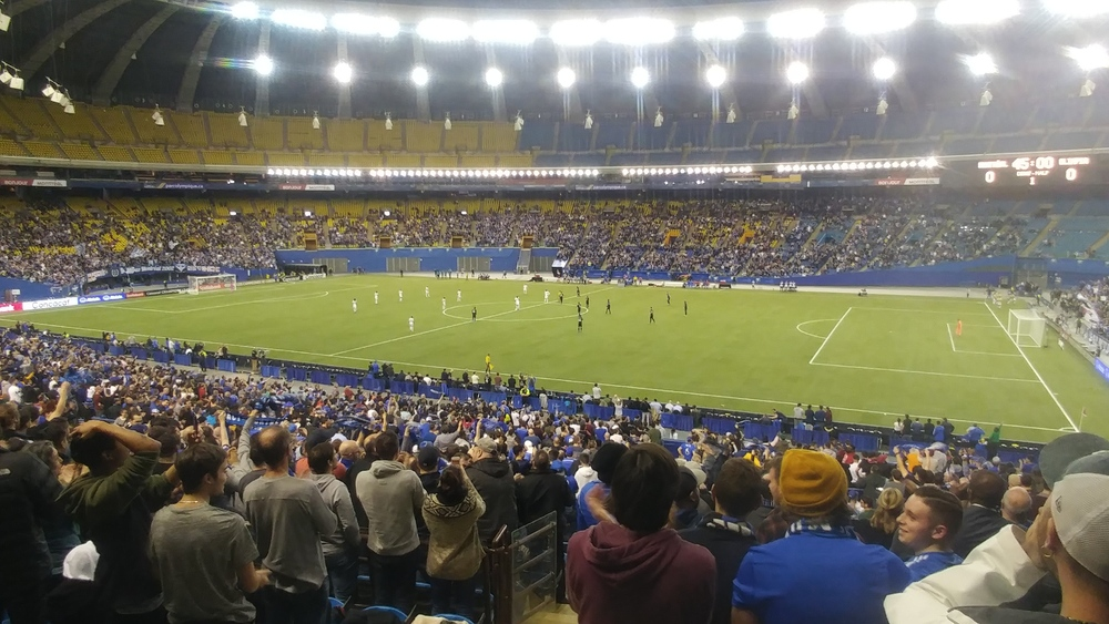Montreal Impact versus CD Olimpia at Olymic Stadium in Montreal on March 10th 2020