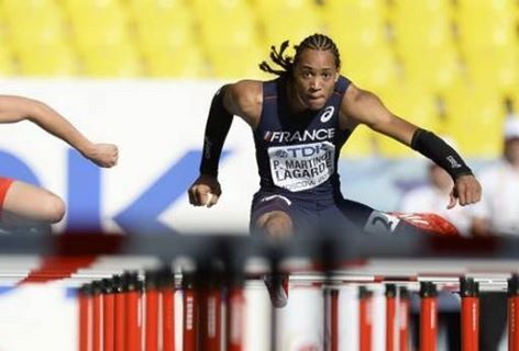 RESULTS OF THE IAAF Diamond League Herculis Monaco 18th July 2014 MEN  110m Hurdles Wind:+0.2 RANK ATHLETE NATION RESULT REACTION TIME DIAMOND POINTS DIAMOND RANKING 1 MARTINOT-LAGARDE Pascal FRA 12.95 NR 0.162 19 1 2 ORTEGA Orlando CUB 13.01 PB 0.158 2 6 3 SHUBENKOV Sergey RUS 13.14 0.156 6 2  4 WILSON Ryan USA 13.18 =SB 0.160  5 RILEY Andrew JAM 13.19 SB 0.151 3 5  6 OLIVER David USA 13.38 0.143 6 2  7 MERRITT Aries USA 13.47 SB 0.157  8 BASCOU Dimitri FRA 13.61 0.154