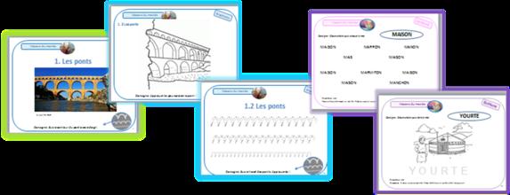 Fichier d'activités maison du monde