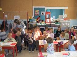 Une visite dans la classe des GSCP.