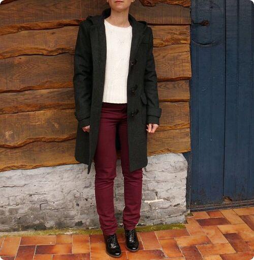Tweed patchwork