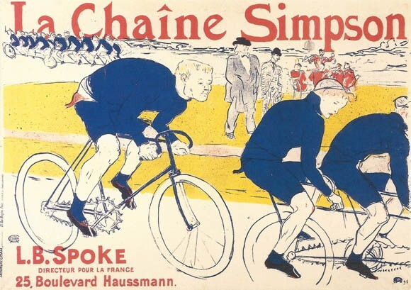 Publicité Toulouse-Lautrec