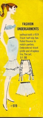 Barbie Vintage : Fashion Undergarments - Lingerie Pak