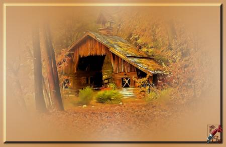 AUT0017 - Tube paysage d'automne