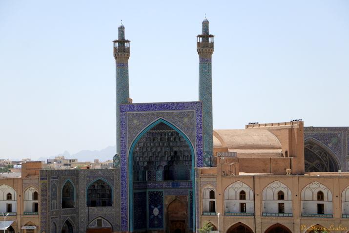 La place Naghsh-e Jahan, Ispahan