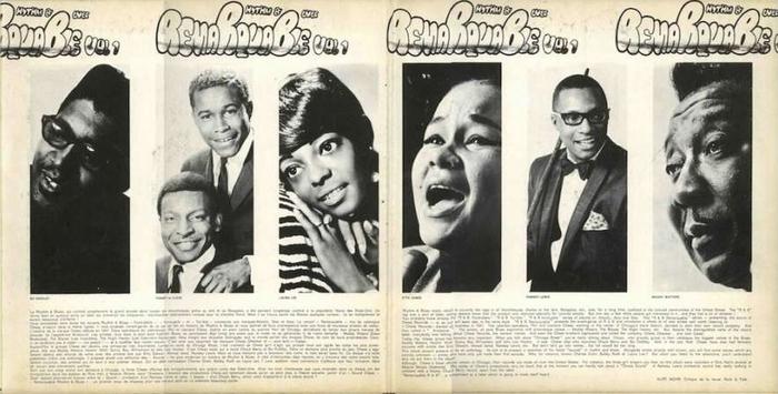 "Série "" Remarquable Rhythm & Blues Vol 1 "" Chess Records 69501 [ FR ]"