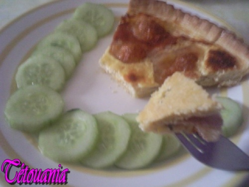 quiche dinde fromages