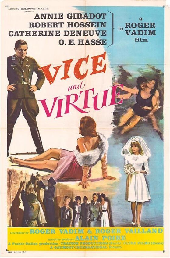 VIVE AND VERTUE BOX OFFICE USA 1964