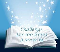 Deuxième point lecture - Challenge : les 100 livres à lire au moins une fois
