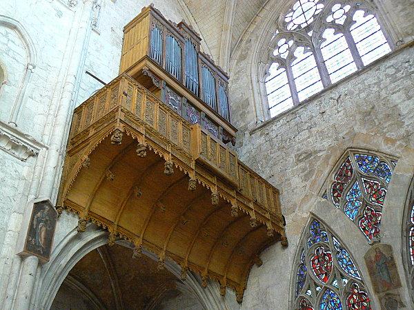 orgue église de St Moret