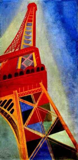La Tour Eiffel et Delaunay