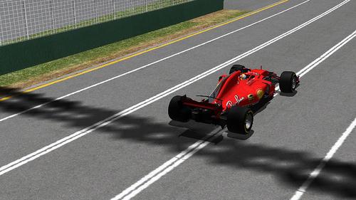 Ferrari-Ferrari SF71-H Sebastian Vettel