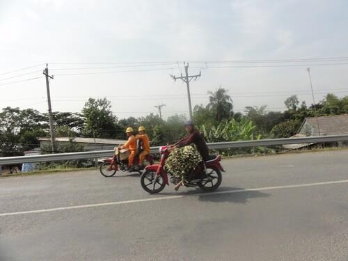7 février: Can Tho vers Cho Mai Les petits villages