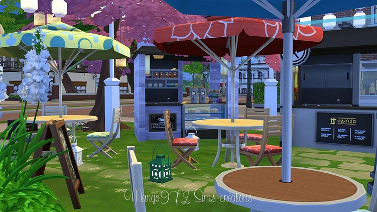 Sims 4 Place de la Fontaine