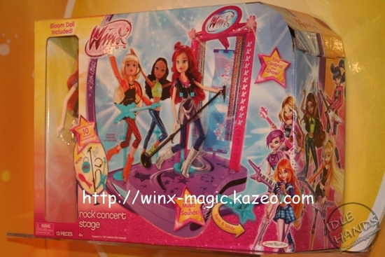 winx club rock concert stage
