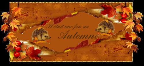 Jolies bannieres d'automne