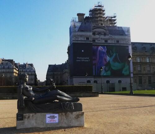invasion Jardins du Louvre JC Decaux Clearchannel publicis