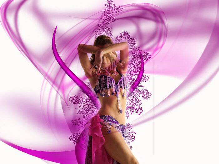 danse sensuelle Wallpaper