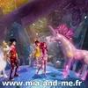 Mia, Onchao, Mo, Yuko et la Licorne de Cristal