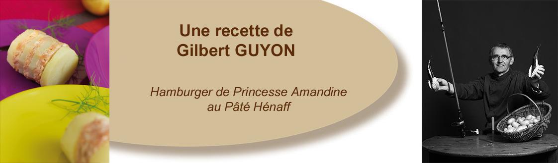 Hamburger de Princesse Amandine au Pâté Hénaff