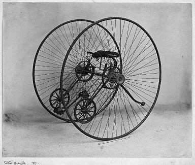 Le dicycle ...