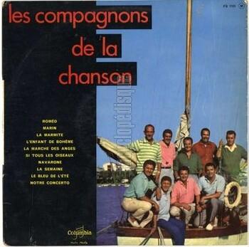 Les compagnons de la chanson, 1961