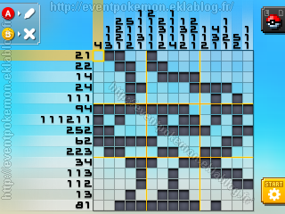 Clamiral Pokémon Picross