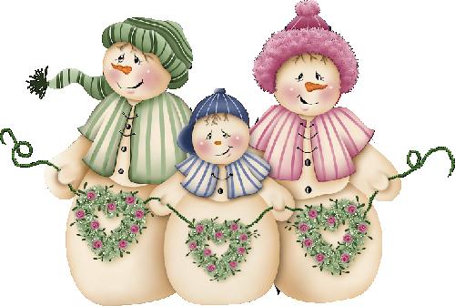 bonhommes de neige
