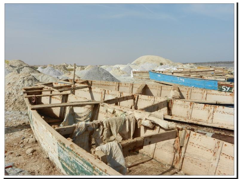 Sénégal le lac rose